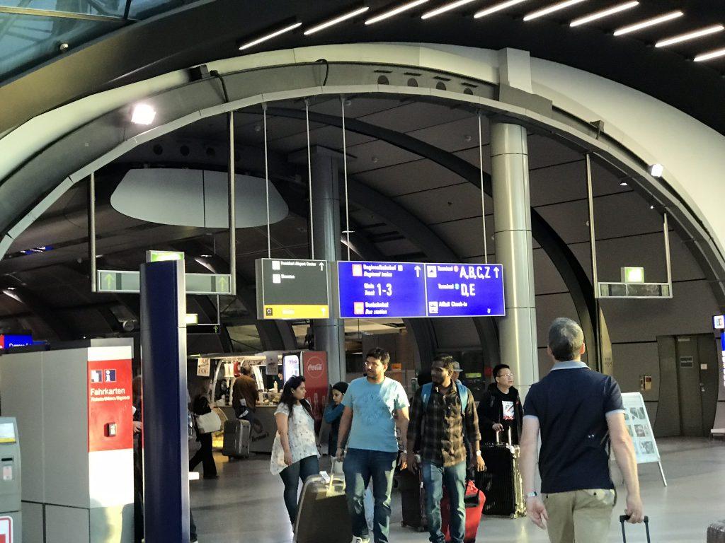 Frankfurt Flughafen Eingang