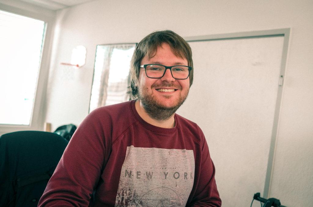 Lars-Sören Steck Portrait